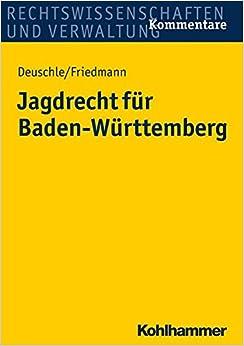 Book Jagdrecht Fur Baden-Wurttemberg