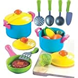 Toy / Game Small World Living Toys Young Chef Cookware Set With Easy-To-Clean Plastic In Vivid Colors