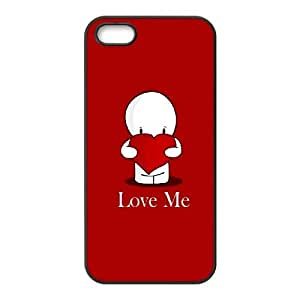 iPhone 4 4s Cell Phone Case Black love me 227 Qkrpv