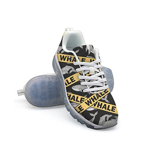 cheap very cheap outlet eastbay GDDF HXB Whale Men's Air Cushion Running Shoes White discount pick a best xTKC4Wfd