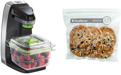 Foodsaver - Envasadora al vacío y pack de 3 recipientes Fresh ...