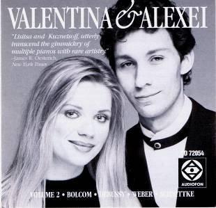 Valentina Lisitsa and Alexei Kuznetsoff, duo-Pianists (Volume 2) play Bolcom: Recuerdos / Debussy: En Blanc et Noir / Weber-Godowsky: Invitation to the Dance / Schnittke: Gogol (Duo Invitation)