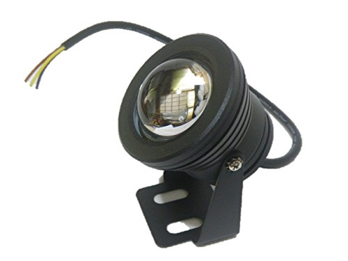 LED防水汎用ライトDC12V白色光(3.黒)