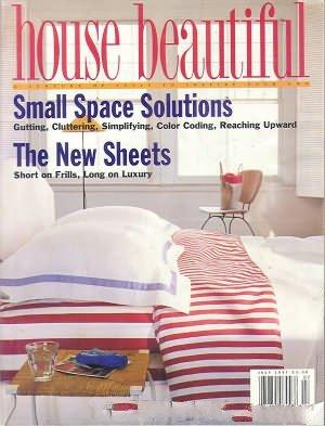 House Beautiful Volume 139 no. 7 July 1997