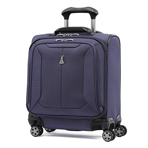 Travelpro Skypro Lite 17'' Expandable 8-Wheel Carry On Spinner Under Seat Bag (Navy) by Travelpro