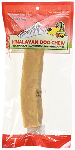 Himalayan Chew Dog's Treat with Yak and Cow Milk