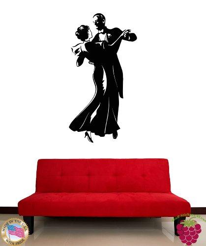 Wall Stickers Vinyl Decal Dance Dancing Couple z1178