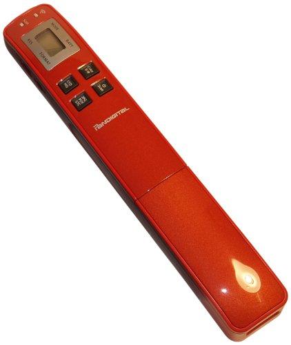 Pandigital Hand-Held Wand Scanner PANSCN10RD (Scarlet Red)