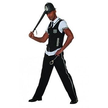 Disfraz hombre Bobby, tamaño 50 - 60: Amazon.es: Juguetes y juegos
