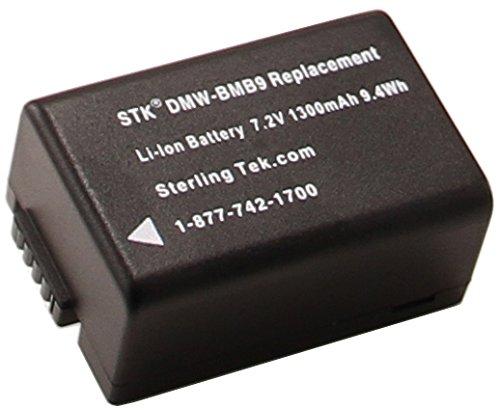 STK DMW-BMB9 Battery for Panasonic Lumix DMC-FZ70, DMC-FZ100, DMC-FZ40, DMC-FZ150, DMC-FZ60, DMC-FZ47, DMC-FZ72 Cameras