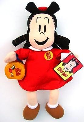 """Amazon.com: Little Lulu 16"""" felpa muñeca w/Monedero by ..."""