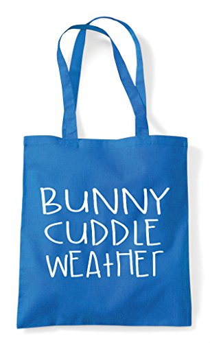 Sapphire Animal Weather Bunny Bag Funny Themed Cute Tote Shopper Cuddle Pet Xwwqgv