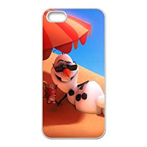 Frozen Snowman Olaf Cell Phone Case for Iphone 5s
