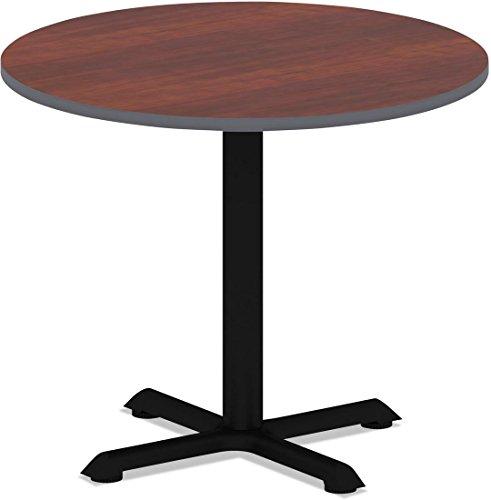 ALERA - Reversible Laminate Table Top, Round, 35 1/2 Dia., Medium Cherry/mahogany ( ALETTRD36CM ) ( TTRD36CM ) by Alera