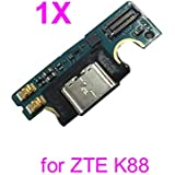PHONSUN Type C USB Charging Port Flex Board Replacement for ZTE Trek 2 K88 AT&T Tablet