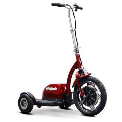 EW-18 Ewheels Stand and Ride Scooter Color: Red