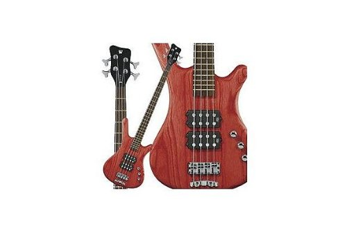 Warwick Rockbass Corvette  4 string, Burgundy Red Oil Finish