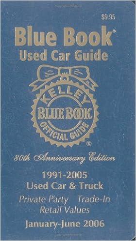 Read Kelley Blue Book Used Car Guide: January-June PDF, azw (Kindle), ePub