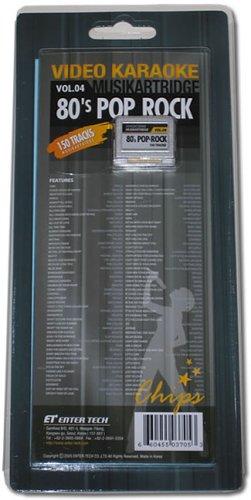 Leadsinger LS-3C04 80's Pop-Rock Cartridge for LS-3000 Series - Leadsinger Karaoke System