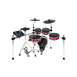 Alesis Strike Kit | Eight-Piece Professional Electronic Drum Kit with Adjustable Mesh Heads, 110 kits and over 1600…
