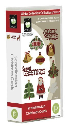Price comparison product image Cricut Scandinavian Christmas Cards Cartridge by Cricut