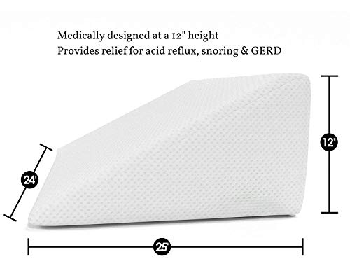 Cushy Form Bed Wedge Pillow