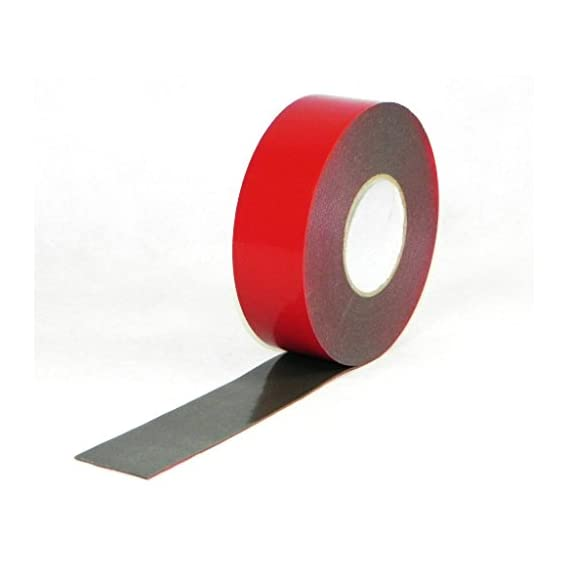 G&S 10mm VHB Tape Double-Sided Adhesive, High Strength-Use on Any Material- Wooden, Metal, Glass (8mtr-Grey)