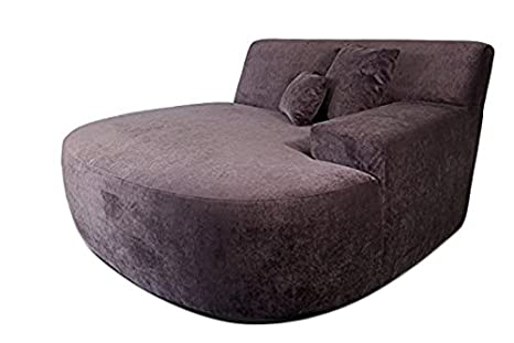 reputable site ad5c6 f28e8 Decenni Ampio Right Arm Chaise Facing Lounge Chair Sofa Sonoma Eggplant