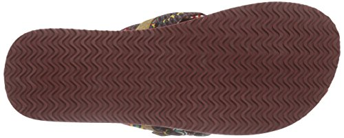 Tamaris 27109, Chanclas para Mujer Multicolor - Mehrfarbig (FLOWER/NUT 910)