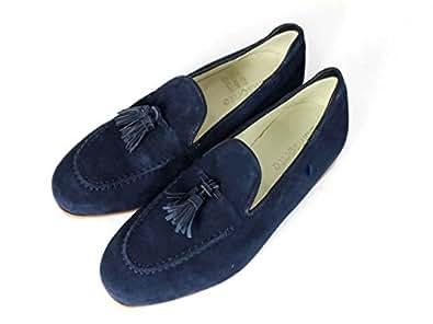 Samsonite - Mocasines de ante para hombre, color azul, talla 45: Amazon.es: Zapatos y complementos