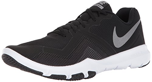 NIKE Men's Flex Control II Cross Trainer, Black/Metallic Cool Grey-White, 11.0 Regular US Review