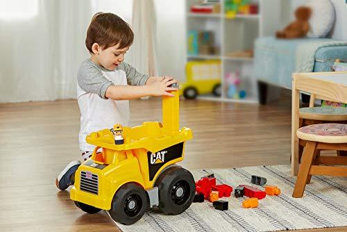 413QNcTj7wL - Mega Bloks Caterpillar Large Dump Truck