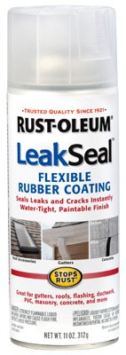 Rust Oleum LeakSeal All-Purpose Spray Rubber Sealant