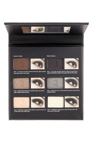 Nordstrom Flawless Smokey Eyes Palette 6 Eye Shadows