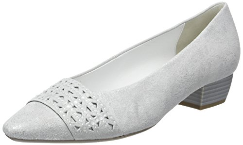 61 Shoes Gabor Fashion Escarpins Blanc Femme absatz ice R0WqzW1dfw