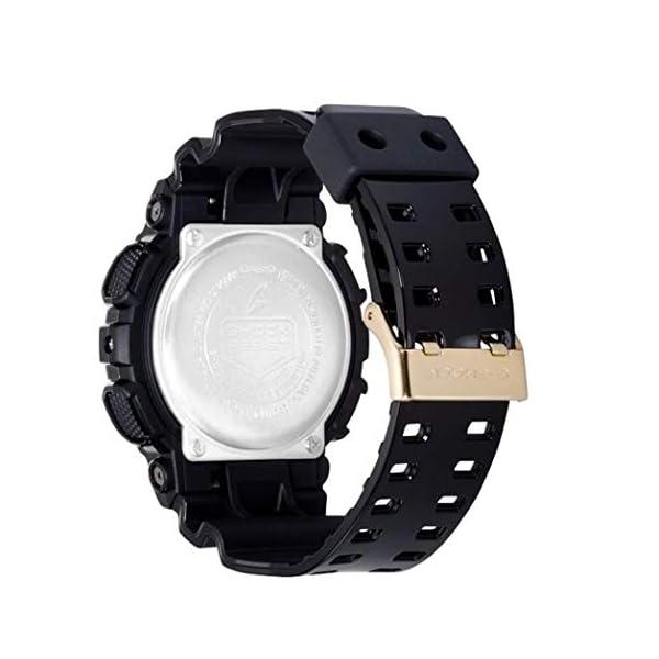 Casio Reloj Analógico-Digital para Hombre de Cuarzo con Correa en Resina GA-100MMC-1AER 3