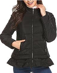 Mofavor Womens Packable Ultra Lightweight Short Down Jacket