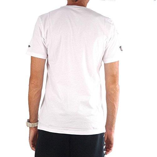 A NEW ERA T-Shirt NFL Oakland Raiders Border Edge II College Bianco Formato: XL (X-Large)