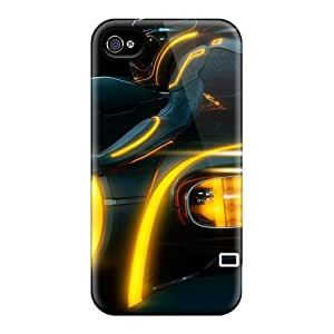 Excellent Iphone 4/4s Case Tpu Cover Back Skin Protector 2010 Tron Legacy 2