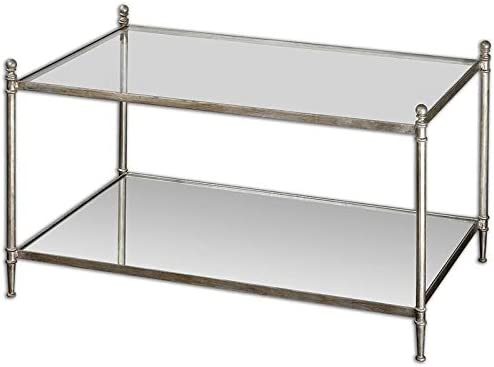 Editors' Choice: Uttermost Gannon Mirrored Glass Coffee Table