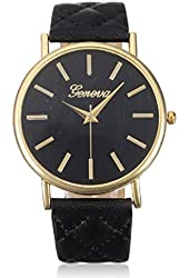WensLTD Fashion Women Casual Roman Leather Band Analog Quartz Wrist Watch