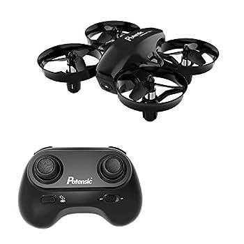 Mini Drone, Potensic A20 Altitude Hold Quadcopter Drone 2.4G 6 Axis Headless Mode Remote Control Nano Quadcopter for Beginners