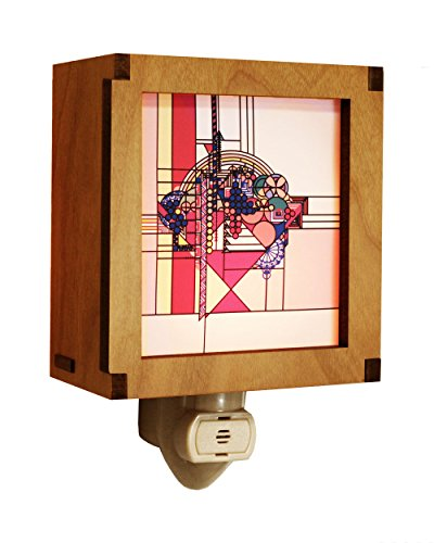 Frank Lloyd Wright Hardwood May Basket Night Light