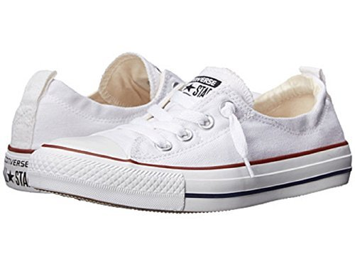 Converse Womens Chuck Taylor Shoreline Slip On Fashion Sneaker (8 (WOMEN) US, WHITE) by Converse
