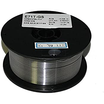 WeldingCity E71T-GS Flux-Core Gasless Mild Steel MIG Welding Wire 0.035