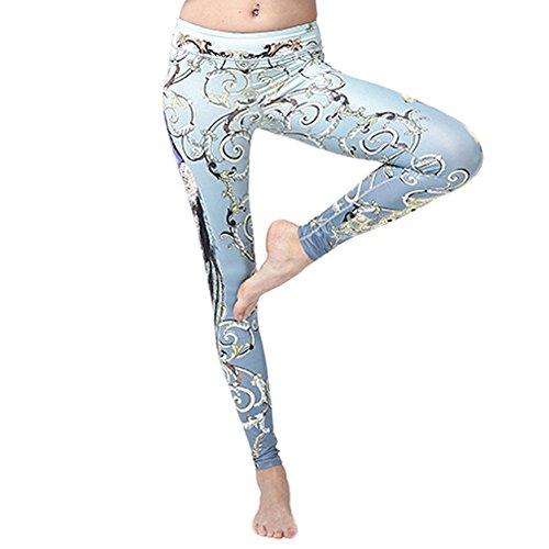 WintCO Pantalons Sportif pour Femmes Yoga Jogging Pantalons Gymnastique Pantalon d'Entraînement Femmes Indéformable Amincissant