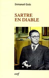 Sartre en diable par Emmanuel Godo