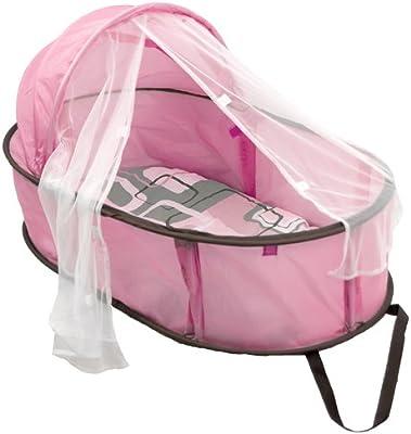 Amazon.com: Kushies Bebé Easy Fold Bebé Cama, Rosado: Baby