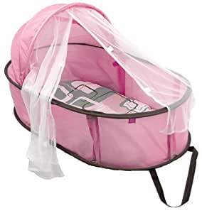 Kushies Baby Easy Fold Baby Bed, Pink (Discontinued by Manufacturer)