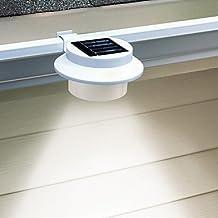 LWW 3-LED White Light LED Solar Gutter Safety Light (CIS-57155A)